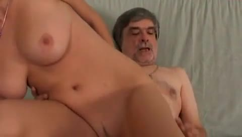 Recording and fucking his cute daughter tits