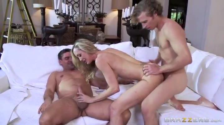 Lesbian Threesome Brandi Love