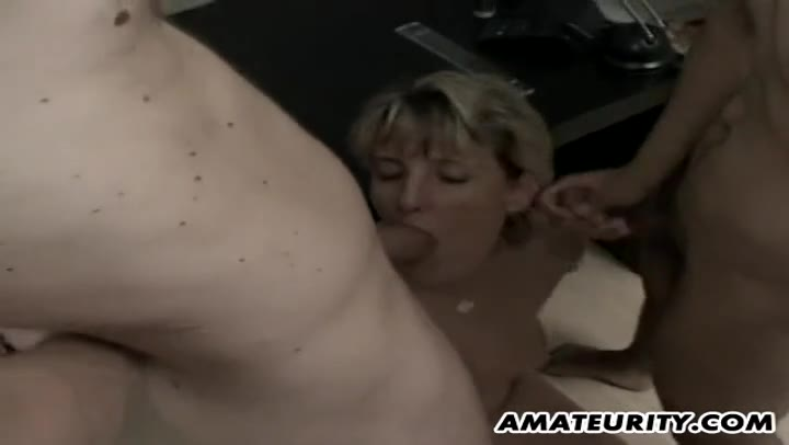 Amateur Wife Threesome Anal