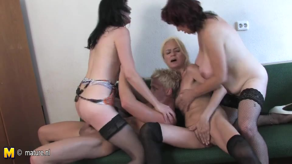 dirty mom orgy young man