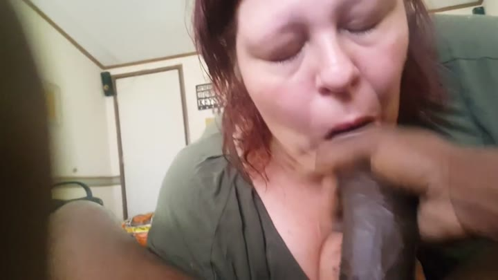 Amatuer Sloppy Blowjob