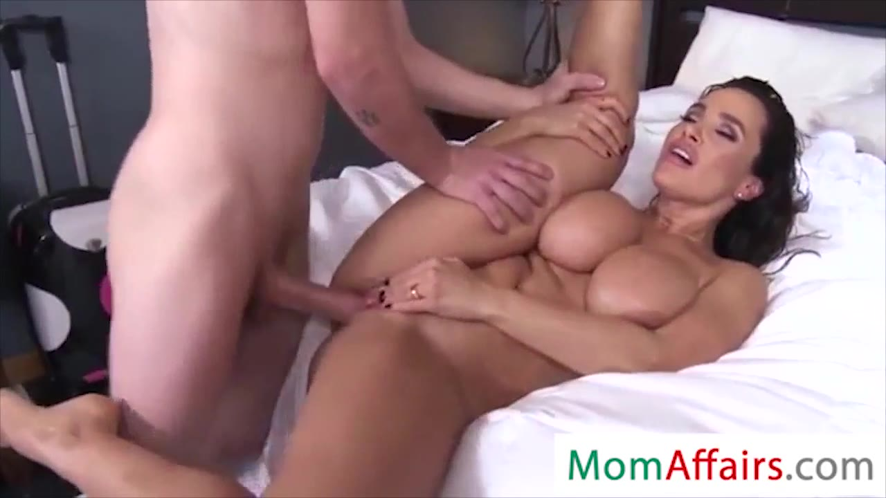 Sexy Big Tit Mom Fucks Son