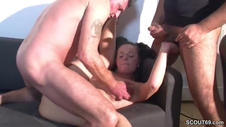 Real Teen Homemade Threesome