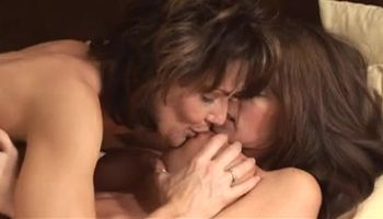 Beautiful Sexy MILFs Making Love