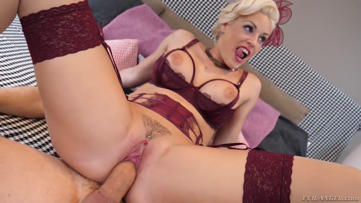 German Blonde Milf Anal