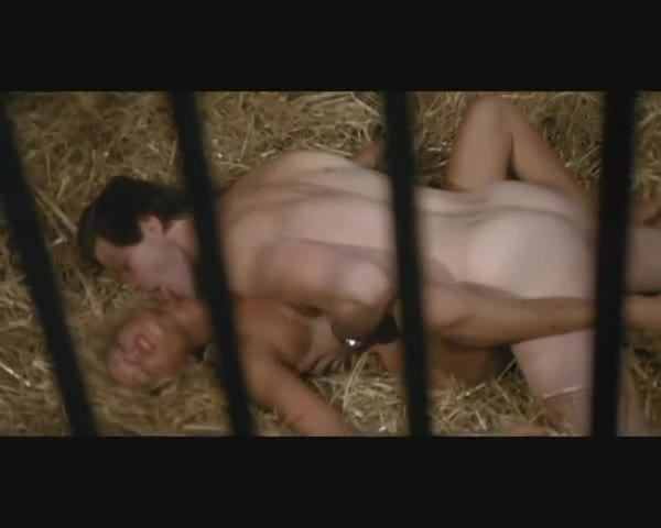 Dude catches sexy blonde in the stables and fucks her hard